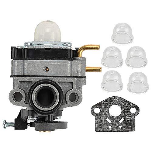 ATVATP 753-05676 Carburetor Primer Bulb Fit Troy Bilt TB4BP TB4BPEC Blower TBP6160 Trimmer Yard Man YM45BP 32cc 4-Cycle Backpack Blower 753-05676A 753-06795 753-08174