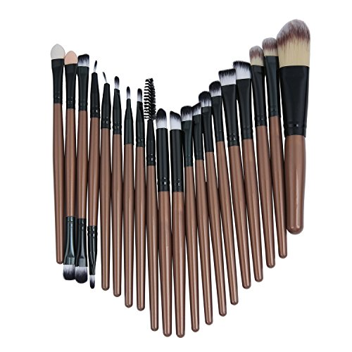 Demarkt 20 PCS Make Up Pinsel Set Professionelle Kosmetik Kit mit Foundation Puder Pinsel...