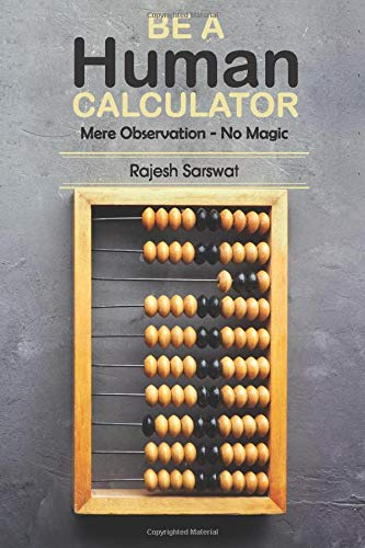 Compare Textbook Prices for Be a Human Calculator: Mere Observation - No Magic 1 Edition ISBN 9789352066070 by Sarswat, Rajesh