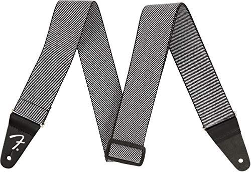 Fender® WeighLess - Correa de tweed, color blanco