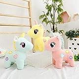 Fun Flow Plush Simulation Little Pony Unicorn Pillows Doll Toys Figure Posture Stuffed Animal Unicorn Plush Animal Soft Toy Pillow Cute and Soft Doll Toys Best Kids Toys Birthday Gift for Girls,Boys (25 cm)