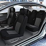 DBS Coprisedili Auto/Vettura - su Misura - Rifinizioni Alta Gamma - Montaggio Rapido - Compatibile Airbag - Isofix - 1011546