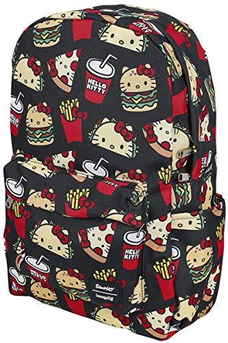 Loungefly X Sanrio Hello Kitty Snacks AOP Nylon Backpack