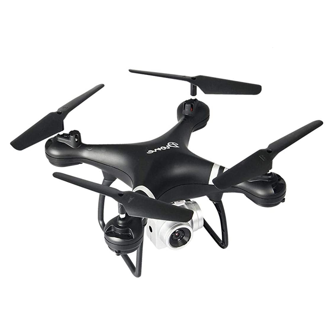 Lijuan Qin LF608 WiFi FPV RC Drone Quadcopter with 2.0MP/5.0MP Camera, Remote Control Drone Aircraft Air Pressure Fixed Height, Axis Aircraft Drone Toy for Adults
