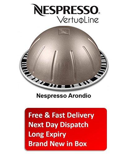 Nespresso Vertuo line Arondio Flavor Coffee 4 Sleeves 40 Capsules