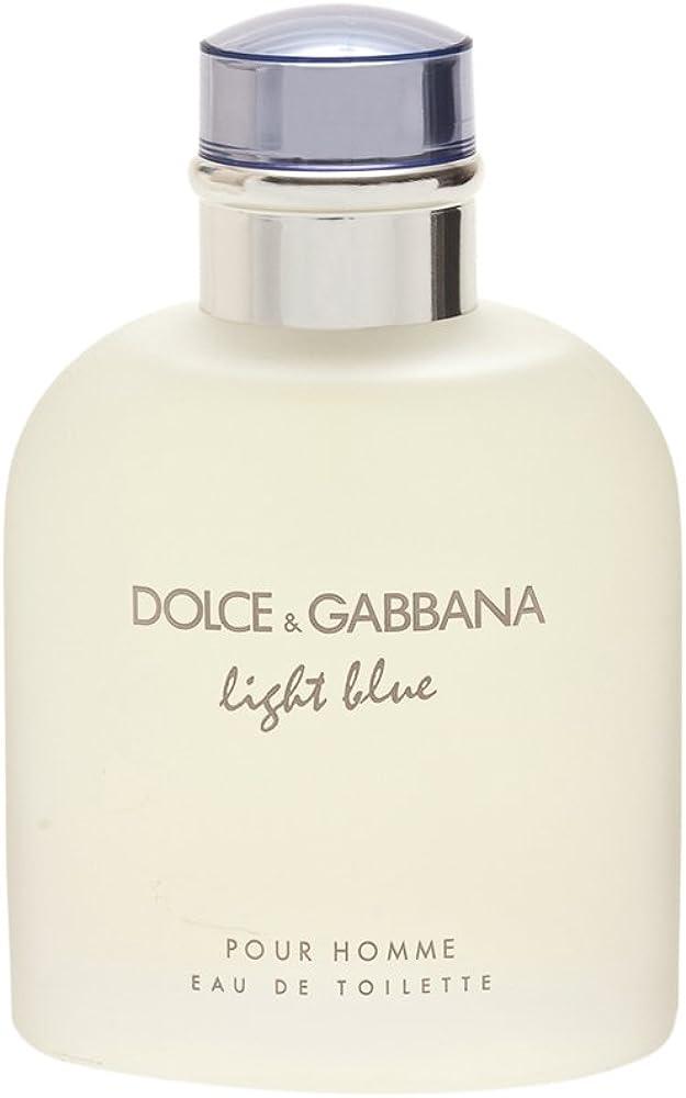 Dolce gabbana light blue pour homme eau de toilette profumo uomo 125 ml p3_p0590178