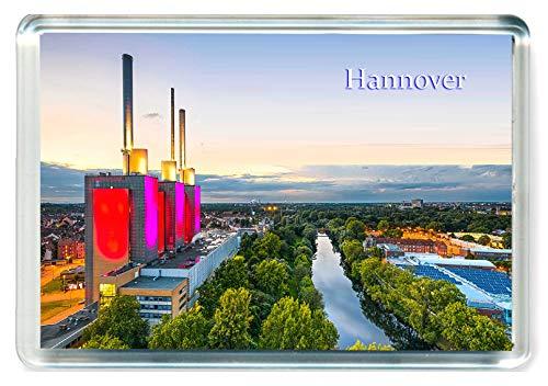 L068 Hannover Kühlschrankmagnet Germany Travel Jumbo Fridge Magnet