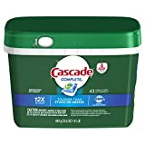 Cascade Complete Actionpacs, Dishwasher Detergent, Fresh Scent, 43 count