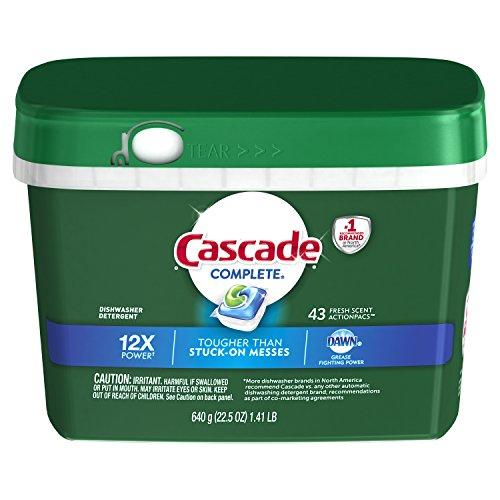 cascade dishwasher detergent gel - 8