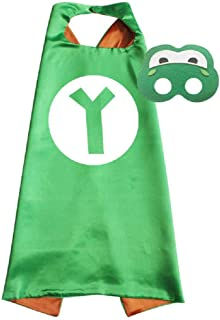 Super Mario Cape and Mask Set Costume Game Kids Birthday Party Superhero Cosplay
