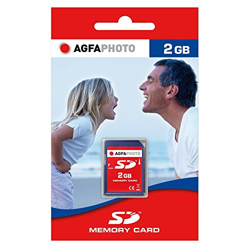 AgfaPhoto Secure Digital (SD) 2GB Eco Speicherkarte