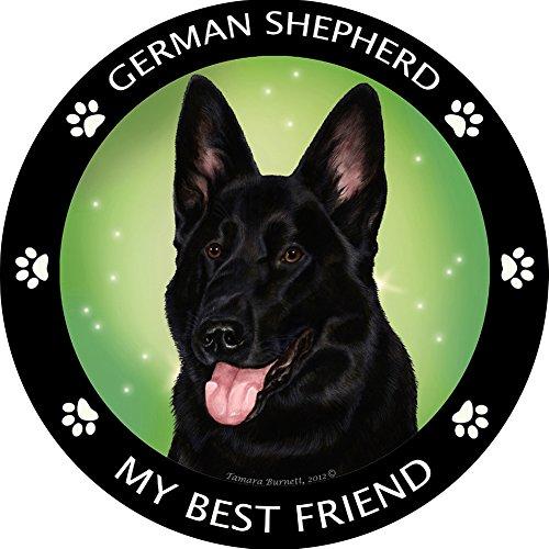 Pet Gifts USA My Best Friend German Shepherd - Black Magnet