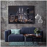djnukd Moderne Architektur Twin Towers Poster Malaysia