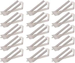 Scicalife 30 Pcs 3D- Skrivare Varm Sängglas Plattformsäkring Clips Hållare Användbar Glassäng Clip 3D Skrivare Glas Platta...