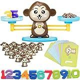Automoness Bilanciamento del Gioco di Matematica delle Scimmie, Giocattolo Matematico Divertente ed Educativo, Conteggio Giochi di Matematica per Bimbi 3-6 Anni