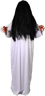 Sadako Cosplay Costume Female Ghost Costume Halloween Party Props Haunted House Masquerade Ghost Dress-up
