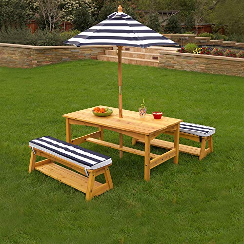 KidKraft Outdoor Children's Picnic Table and Chair Set