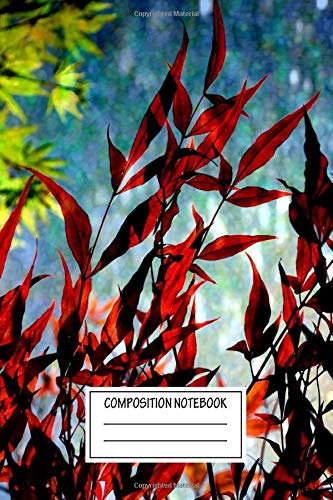 Composition Notebook: Landscapes I Am In Love A Brief Moment Under The Trees Michelle Sixta Wide Ruled Note Book, Diary, Planner, Journal for Writing