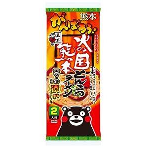 """五木食品 火の国熊本とんこつラーメン (1袋二人前) 10袋入り"""""""