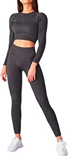 bbmee Camo Workout Sets for Women 2 Piece,High Waisted Seamless Yoga Sets Camouflage Athletic Wear Gym Tracksuits Sportwear