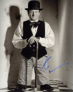 robin williams autographed photo