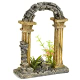 Pet Ting Arche de Jardin décorative pour Aquarium - Décoration...