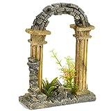 Pet Ting Garden Arch <span class='highlight'>Aquatic</span> Ornament - Aquarium Decoration - Vivarium Decoration