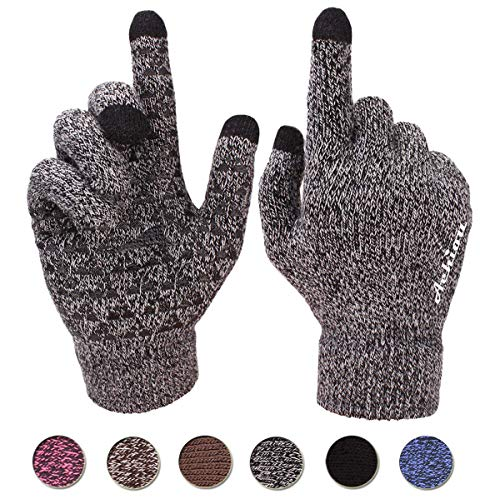 Best white knit gloves women touchscreen for 2020