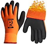 Waterproof Winter Work Gloves Superior Grip Thermal Warm for Outdoor Cold Weather Ice Snow Garden Car Multi-Purpose
