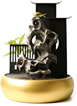 IndoorRelaxation - نافورة شلال 21.2 بوصة داخلي سطح المكتب نافورة الشلال - منضدية شلال نافورة داخلية، للمنزل ومكتب المشهد و...