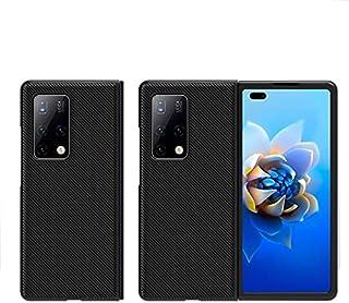 جراب UEKING لهاتف Huawei MATE X2 (2021)، غطاء حماية شامل من الألياف الجلدية لهاتف Huawei MATE X2