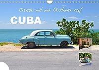 Erlebe mit mir Oldtimer auf Cuba (Wandkalender 2022 DIN A4 quer): Cuba ist ein Land voller schoener alter Autos. (Monatskalender, 14 Seiten )
