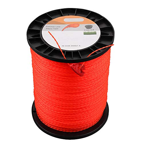 Venseri .095-Inch Trimmer Line 5-Pound Commercial Round String Trimmer Line in Spool, with Bonus Line Cutter