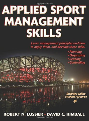 Applied Sport Management Skills (With Web Resource) 1st...