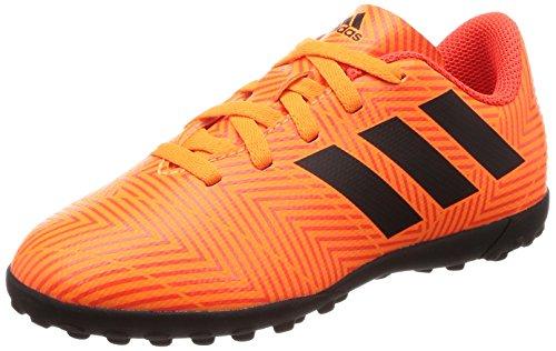 Adidas Nemeziz Tango 18.4 TF J, Botas de fútbol Unisex niño, Naranja (Mandar/Negbás/Rojsol 000), 33.5 EU