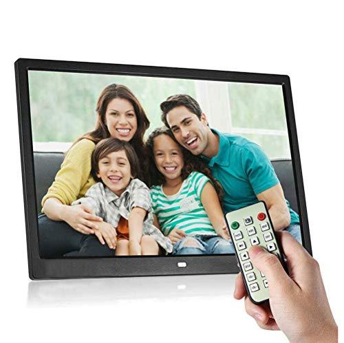 WJ Digitaler Bilderrahmen, 15-Zoll-HD-Auflösung Video Advertising Player, Mit Dem Menschlichen Körper Induktion Und Fernbedienung, Eingebaute Lithium-Batterie Elektronischen Fotoalbum