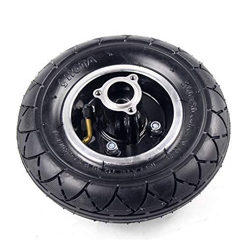 LXHJZ Neumáticos para Scooter Movilidad, Ruedas inflables 200x50 con buje roscado, Ruedas aleación Aluminio compatibles con Scooter eléctrico