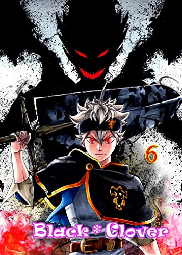 Grimore-The Book Of Magic: Full Collection Manga,Black Clover Book 6 (English Edition)