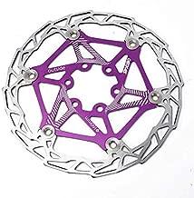 Mountain Bike Floating Brake Disc Rotors,MTB Mountain Bike Bicycle Brake Disc Floating Rotor,Floating Disc Rotor,Floating Disc Brake Rotor(Purple)
