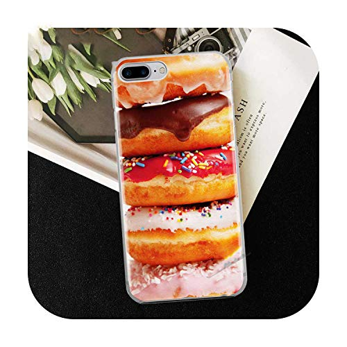 Who-Care Funny Food Dessert Chocolate Beer Phone Case For Iphone 11 Pro Xr 6 6S 7 8 Plus 4S 5S Se Xs Max Cookies Fries Tpu Silicone Case-Tpu A335-For Iphone 6S 6 Plus