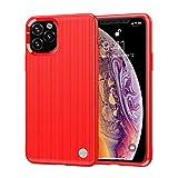 niter - cover in silicone per iphone xr2/xi r, motivo a cuore, morbida e tpu colore: rosso taglia unica