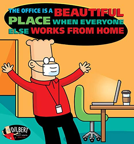 The Office Is a Beautiful Place When Everyone Else Works from Home (Volume 49) (Dilbert)