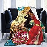 DSZQTT Elena of Avalor 4 Manta de forro polar para adultos 152,4 x 127 cm