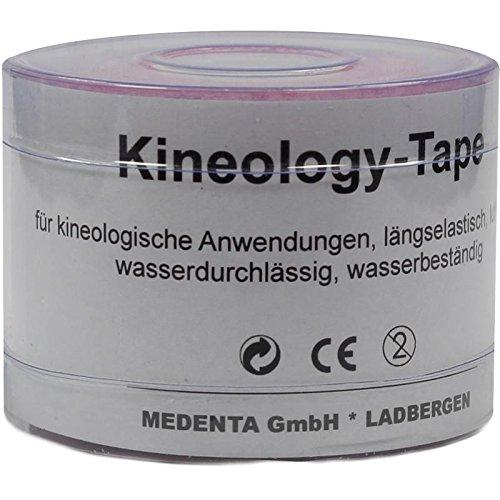 KINEOLOGY Tape 5 cmx5 m pink 1 St