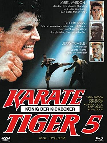 Karate Tiger 5 - König der Kickboxer - Mediabook - Limitiert / Cover B (+ DVD) [Blu-ray]