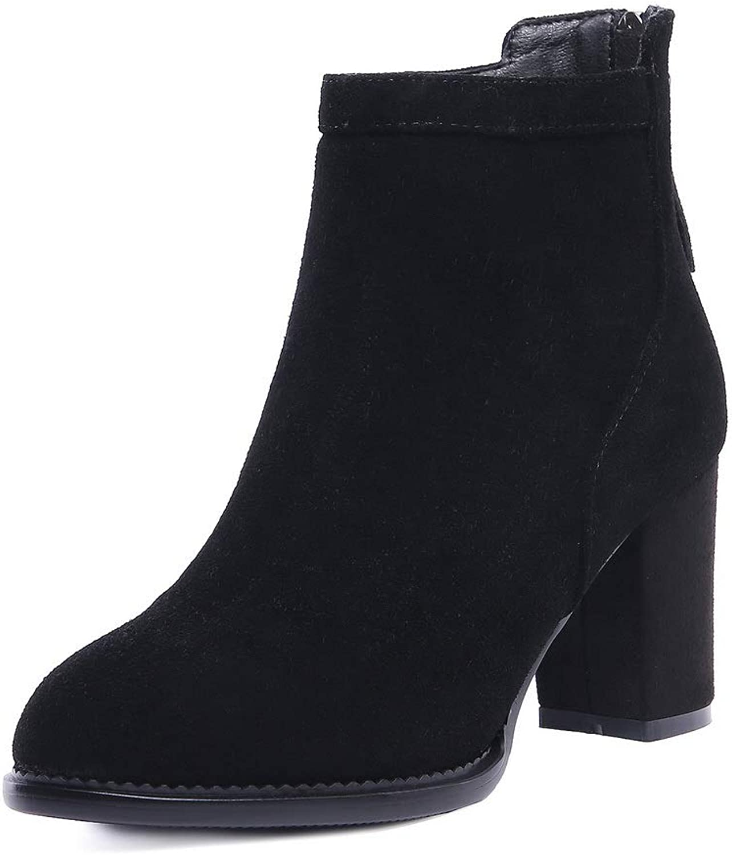 AdeeSu Womens Glitter High-Heel Casual Urethane Boots SXE04756
