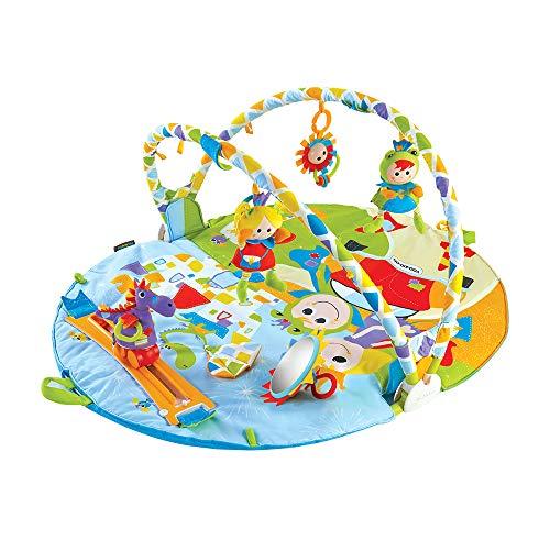ユーキッド プレイマット レールの上を車が走る プレイジム 成長に合わせて長く使える 知育玩具