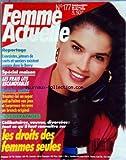 FEMME ACTUELLE [No 177] du 15/02/1988 - EXORCISTES / JETEURS DE SORTS ET SORCIERS EXISTENT ENCORE DANS LE BERRY - SPECIAL MAISON / LES LITS ESCAMOTABLES - LOISIRS ACTIFS - LES DROITS DES FEMMES SEULES