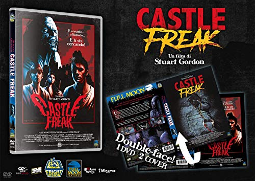 Castle Freak (Fright Vision) - Limited 50 cp con Card Autografata Charles Band [Home Movies]