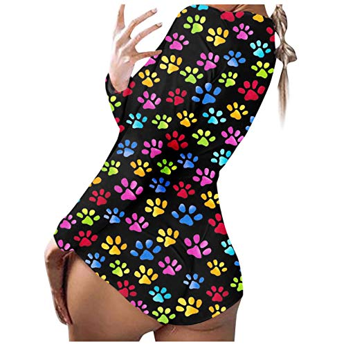 MUMEOMU Damen Shorts Einteilige Strumpfhose Neuheit Schmetterling Valentinstag Liebe Bequeme eng anliegende weiche Pyjamas Einteilige Strumpfhose
